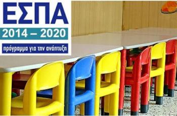 Παιδικοί σταθμοί – ΕΣΠΑ 2019